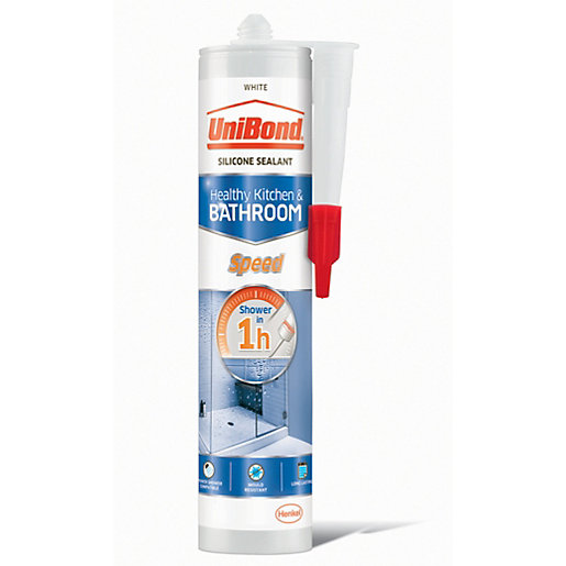 UniBond Speed Anti Mould Sealant White - 291g