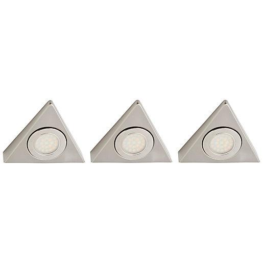 Faro 1.5W CCT LED Triangular Cabinet Light -