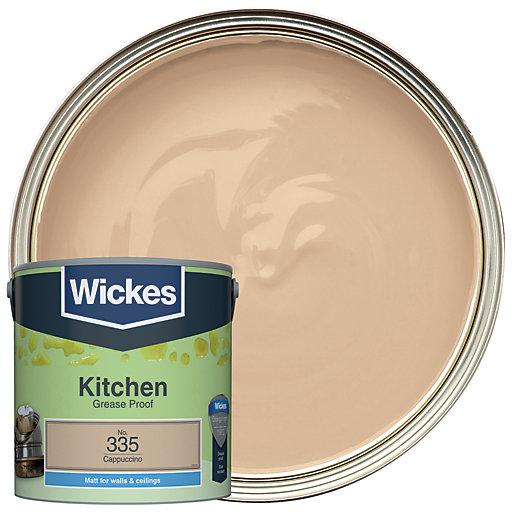 Wickes Cappuccino - No. 335 Kitchen Matt Emulsion