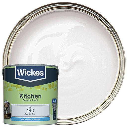 Wickes Powder Grey - No. 140 Kitchen Matt