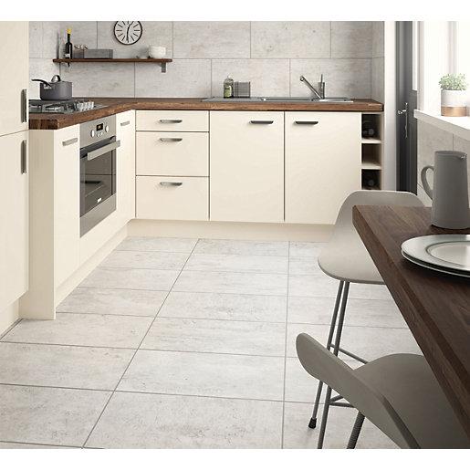 Wickes City Stone Grey Ceramic Wall & Floor