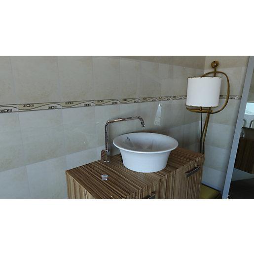 Wickes Tivoli Beige Ceramic Wall Tile - 330