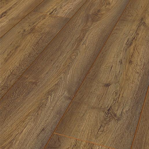 Acacia Brown Oak Laminate Flooring - 1.73m2