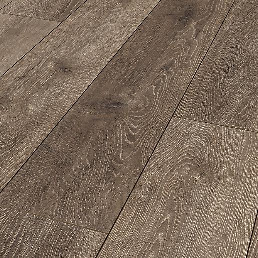 Galloway Brown Oak Laminate Flooring - 2.22m2
