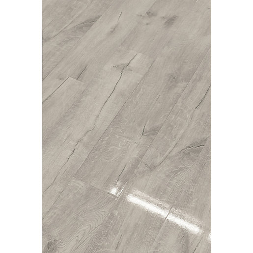 High Gloss Grey Laminate Flooring 2, Grey Laminate Flooring Wickes