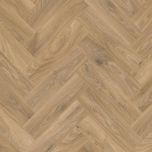 Kronospan Historic Oak X-Way Herringbone Laminate Flooring -