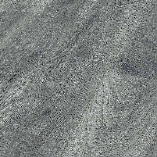 Kronospan Tomahawk Blue Grey Oak Laminate Flooring -