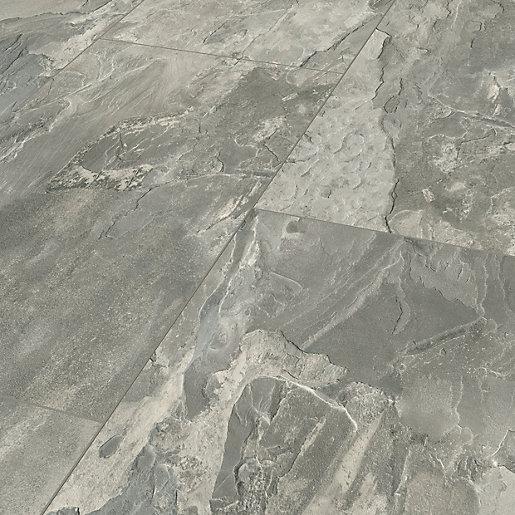 Light Grey Slate Moisture Resistant, Laminate Flooring To Tile