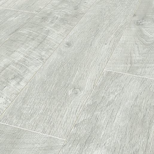 Salerno Oak Grey Laminate Flooring - 2.22m2