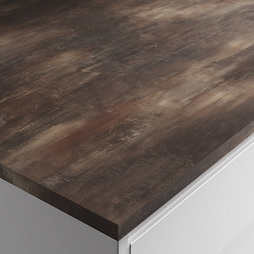 Painting Brown Square Edge Breakfast Bar 22mm X