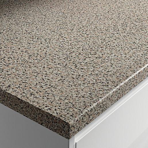 Wickes Gloss Laminate Worktop - Lava Rock 600mm
