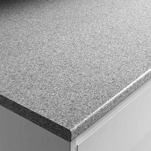 Wickes Laminate Worktop - Dapple Slate 600mm x
