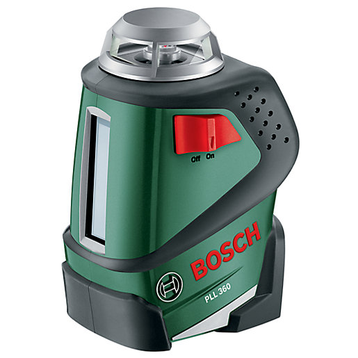 Bosch Pll 360 Cross Line Laser Level