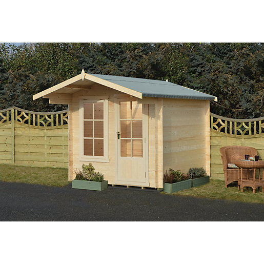 Shire Crinan 7 x 7ft Garden Log Cabin