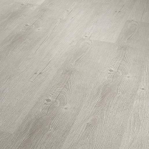 ClickCo Grey Oak Luxury Vinyl Flooring with built