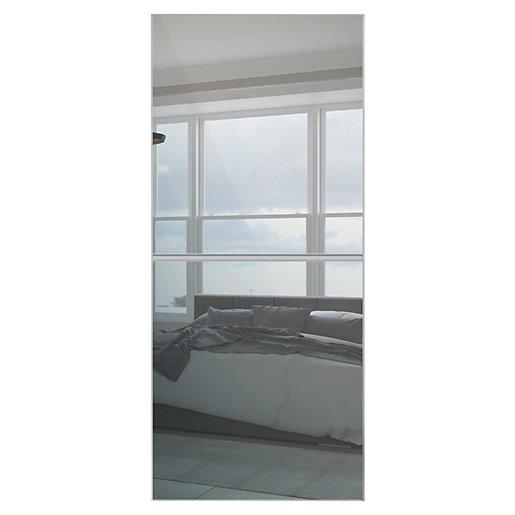 Spacepro Minimalist 2 Panel Sliding Wardrobe Door -