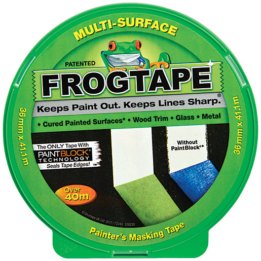 FrogTape Multi-Surface Green Masking Tape - 36mm x