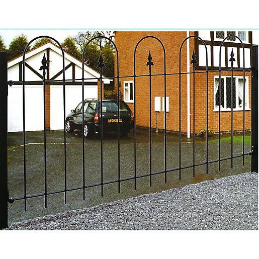 Wickes Kensington Metal Railing - 914 x 1830mm