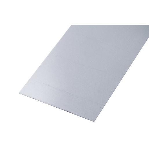 Wickes Metal Sheet Raw Steel - 120mm x