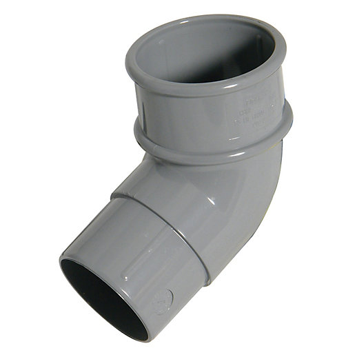 FloPlast 50mm MiniFlo Downpipe Offset Bend 112.5° -