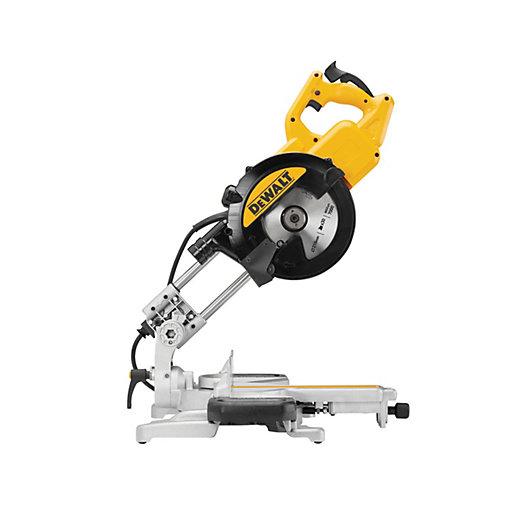 DEWALT DWS774 216mm Corded Sliding Mitre Saw -