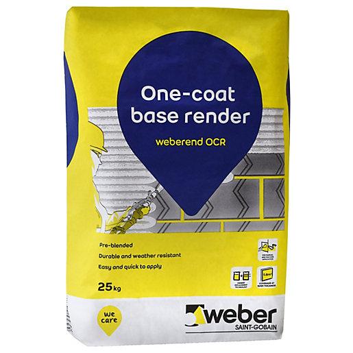 Weber One Coat Base Render - 25kg