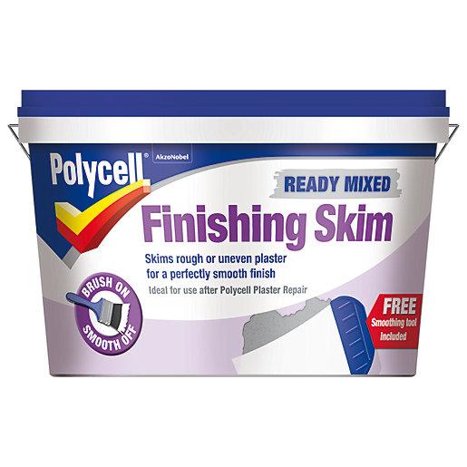 Polycell Ready Mixed Finishing Skim - 2.5L