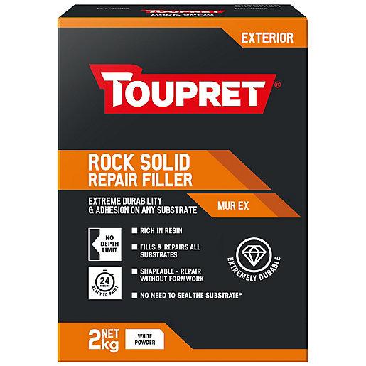 Toupret Rock Solid Repair Powder Filler - 2kg