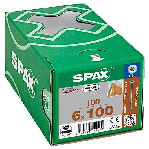 Spax Tx Washer Head Wirox Screws - 6.0x100mm