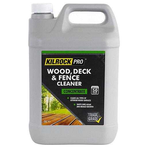 KilrockPRO Wood, Deck & Fence Cleaner - 5L