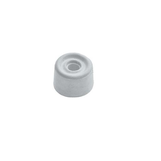 Wickes PVC Door Stop - White 28mm