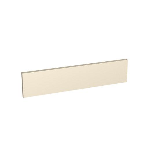 Wickes Orlando Cream Gloss Infill Panel - 600