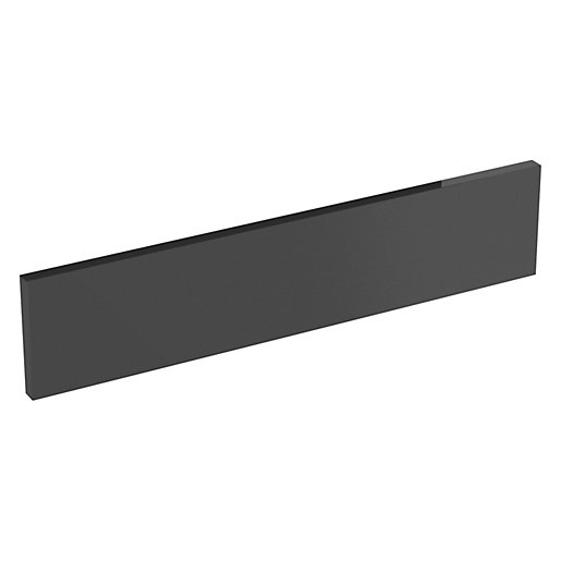 Orlando Dark Grey Gloss Infill Panel - 600