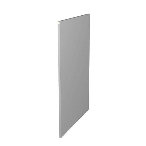 Wickes Orlando/Madison Grey Gloss Decor Base Panel -