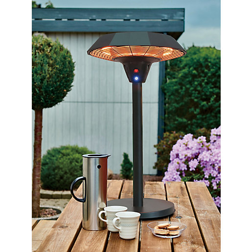 Charles Bentley 2000W Electric Table Top Outdoor Patio