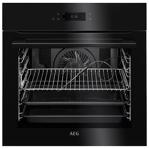 AEG BPK748380B Connected Pyrolytic Oven - Black