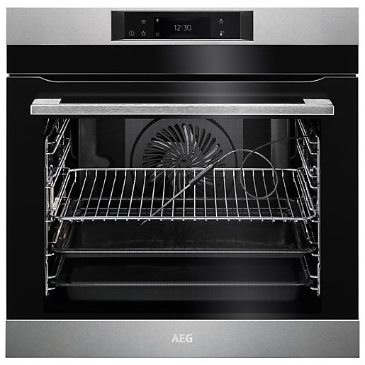 AEG BPK748380M Connected Pyrolytic Oven - Stainless Steel