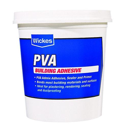Wickes PVA Building Adhesive - 1L