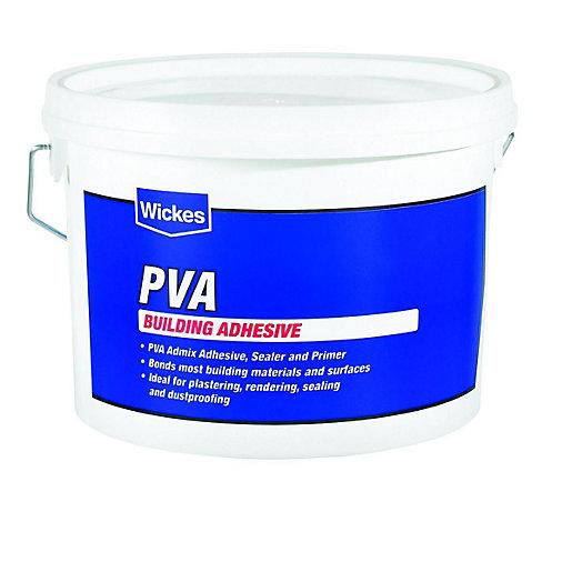 Wickes PVA Building Adhesive - 2.5L