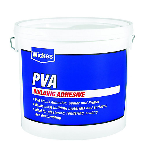Wickes PVA Building Adhesive - 5L
