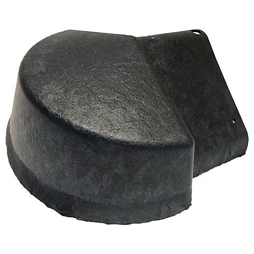 Envirotile Plastic Lightweight Anthracite Ridge to Apex Cover