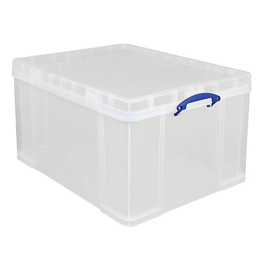 Really Useful Clear Storage Box - 145L
