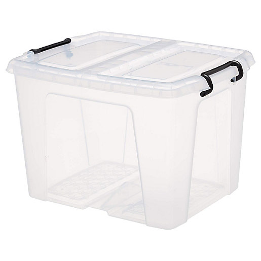 Smart Storemaster Box with Lid 40L