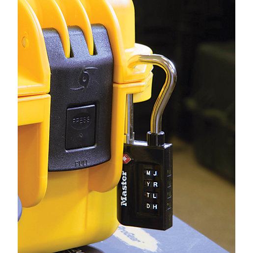 Master Lock TSA 4 Digit Combination Heavy Duty