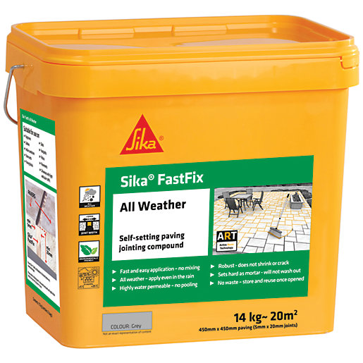Sika Fast Fix All Weather Jointing Paving Compound