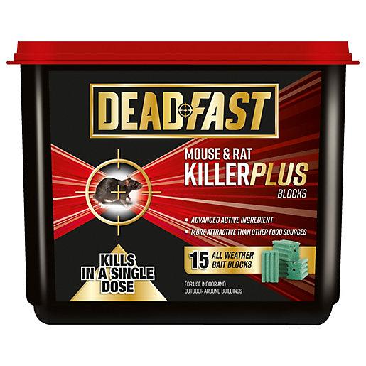 Deadfast Mouse & Rat Killer Plus - 15
