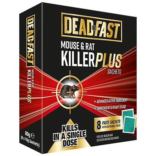Deadfast Mouse & Rat Killer Plus - 8