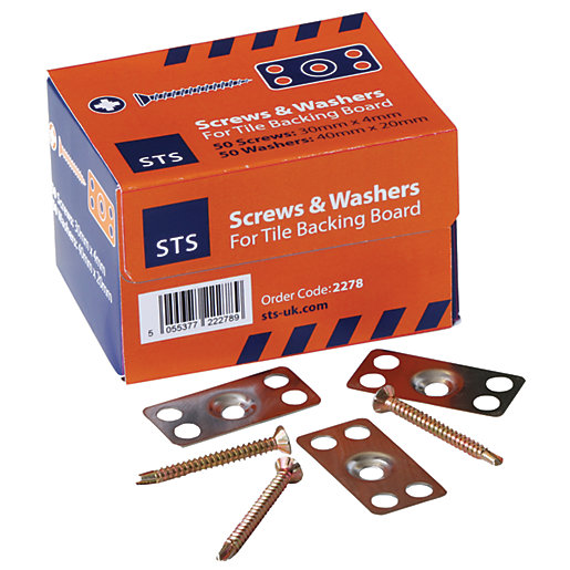 STS 30mm Screws and Stainless Steel Washers –