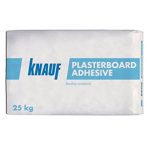 Knauf Gypsum Based Plasterboard Adhesive 25kg