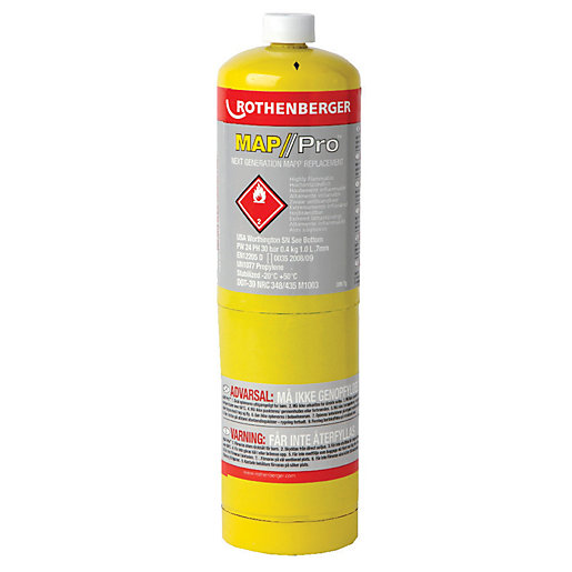 Rothenberger Map/Pro Gas Replacment Cartridge - 400g